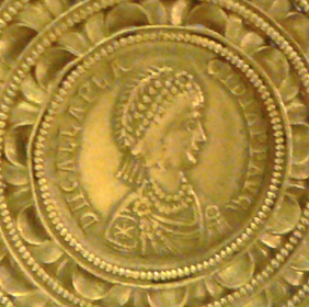 Galla Placidia, Medaillon