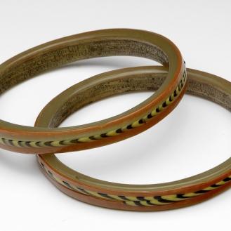 Roman Empire, Eastern Mediterranean │ 3rd century – 4th century AD Size of each bracelet: ↑ 1,1 cm; Ø outside 8,4 cm